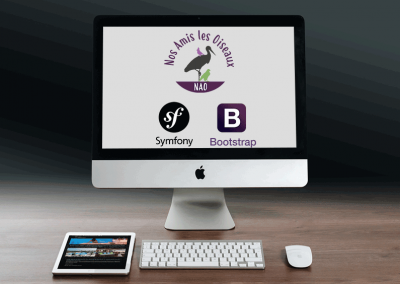 WebSite NAO with Symfony and Bootstrap