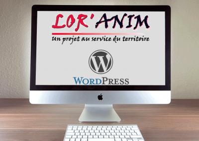 Lor'Anim association WordPress development