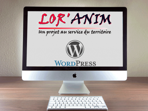 Lor'Anim association WordPress development